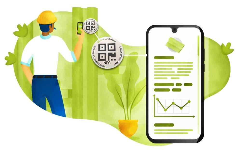 illustration Traçabilité NFC