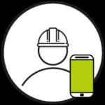 logo utilisateur terrain 360smartconnect
